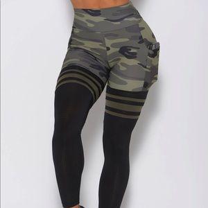 Bombshell Sportswear pocket camo thigh highs
